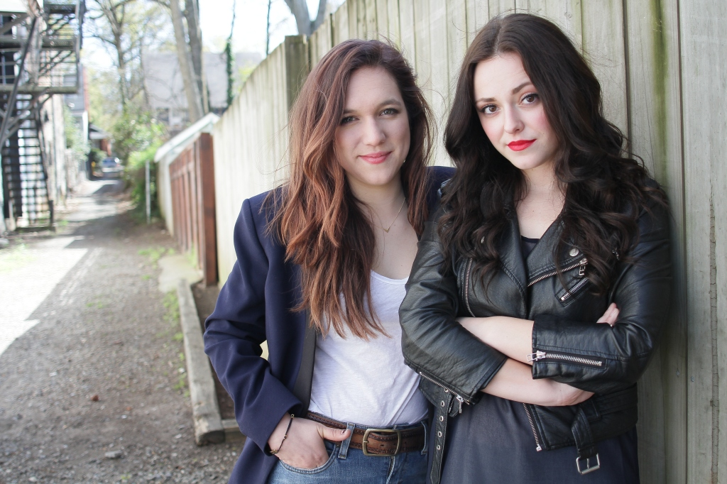 Aly Migliori & Amanda Sophia Ebert, photo by Isadora Pennington 2015.
