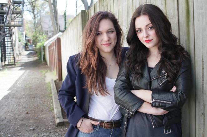 Aly & Amanda, photo by Isadora Pennington
